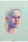 Portrait study | Stina