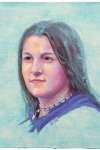 Portrait study | Carlotta