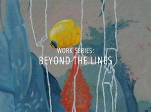 "Der Künstler Viktor Cleve. Die Werkserie: ""Beyond the lines"""