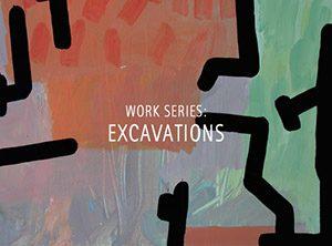 """Der Künstler Viktor Cleve. Die Werkserie: """"Excavations"""""""