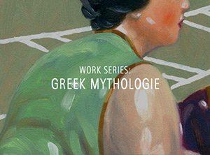 """Der Künstler Viktor Cleve. Die Werkserie: """"Greek mythologie"""""""
