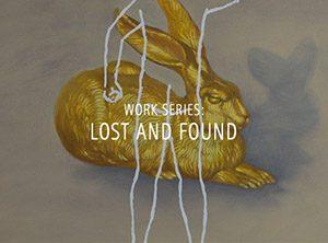 """Der Künstler Viktor Cleve. Die Werkserie """"Lost and found"""" veranlasst den Beschauer zu Gedankengängen, die über das wesentliche hinaus gehen."""