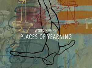"Der Künstler Viktor Cleve. Die Werkserie: ""Places of yearning"""